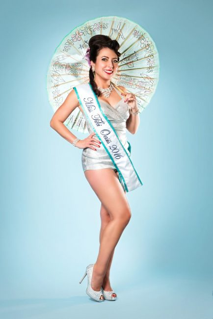 Miss Tiki Oasis 2016 Sassy Stilleto