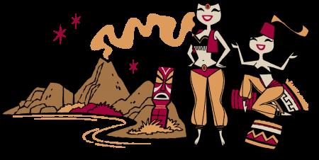 volcano-girls