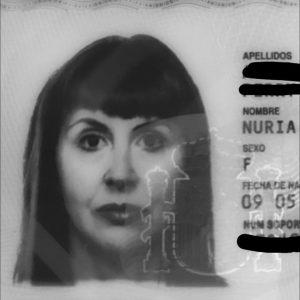 Nuria Alsina passport photo