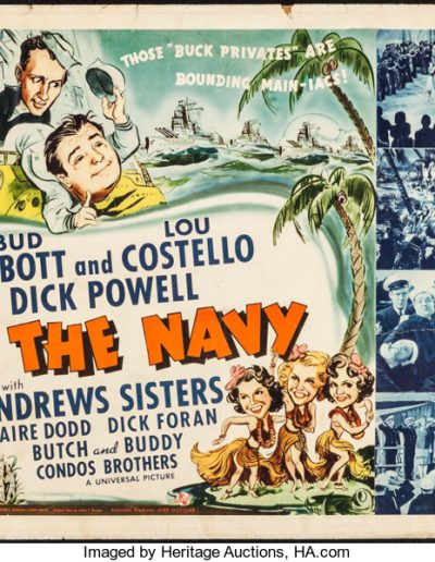 IN THE NAVY (1941) UNIVERSAL