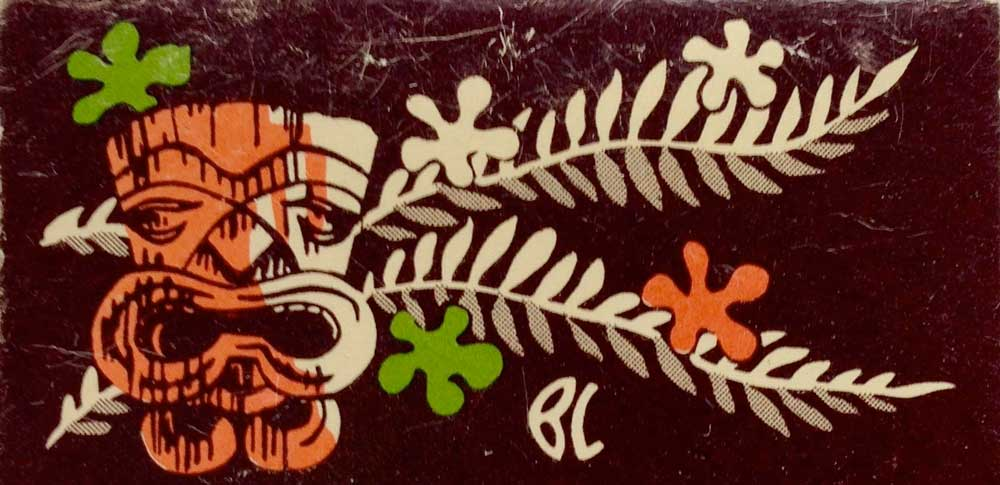 Matchless Tikis: Collecting Tiki Matchbook Covers w/Richard Greene