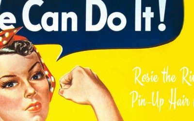 Rosie the Riveter Pin-Up Hair Class w/Lola Demure