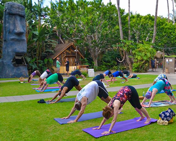 Tiki Oasis Yoga w/ Kiki Lovelace