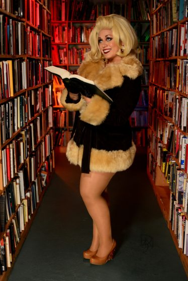 Lady-Lily-La-Douce-Full-Body-Shot-Bookstore-full-color